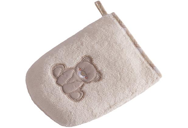 Vossen Baby /& Kleinkind Teddy Waschhandschuh Ivory one Size