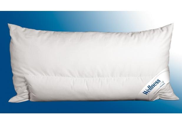walburga wellness kissen mit integrierter nackenabst tzung h rtegrad mittelfest 40 x 80 cm. Black Bedroom Furniture Sets. Home Design Ideas