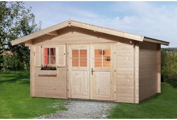 weka gartenhaus 111 gr 3 28 mm vd 60 dt ef. Black Bedroom Furniture Sets. Home Design Ideas