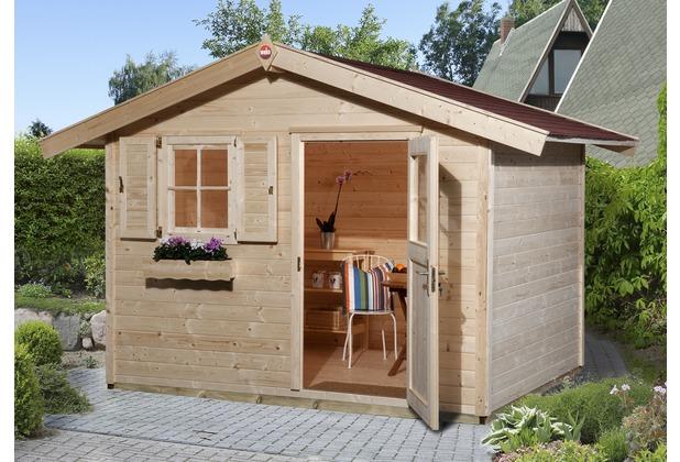 weka gartenhaus 123 gr 3 28 mm et ef ohne boden. Black Bedroom Furniture Sets. Home Design Ideas