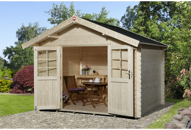weka gartenhaus 209 gr 3 vd 50 cm dt. Black Bedroom Furniture Sets. Home Design Ideas