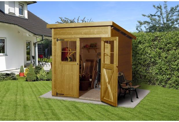 weka gartenhaus 325 gr 1 lasiert 19 mm. Black Bedroom Furniture Sets. Home Design Ideas