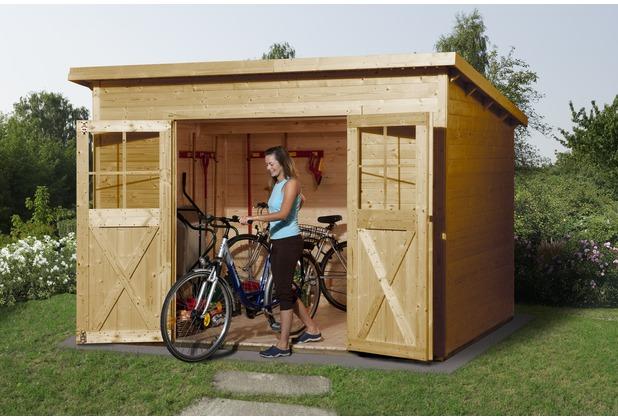 weka gartenhaus 325 gr 4 lasiert 19 mm. Black Bedroom Furniture Sets. Home Design Ideas