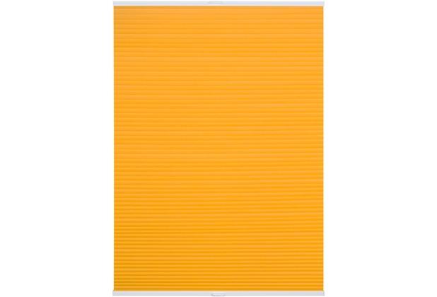 lichtblick plissee klemmfix top thermo ohne bohren verspannt gelb. Black Bedroom Furniture Sets. Home Design Ideas