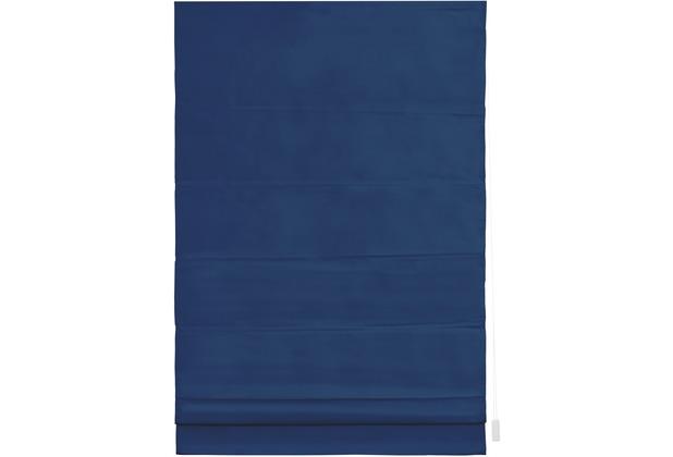 lichtblick raffrollo verdunkelung seitenzug blau. Black Bedroom Furniture Sets. Home Design Ideas
