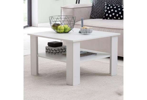 Wohnling Couchtisch Wl5 831 Weiss 70x45x70 Cm Design Holztisch Mit Ablage Wohnzimmertisch Coffee Table Sofatisch Loungetisch Holz Kaffeetisch