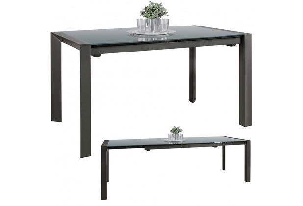 ausziehbare esszimmertische aus glas. Black Bedroom Furniture Sets. Home Design Ideas
