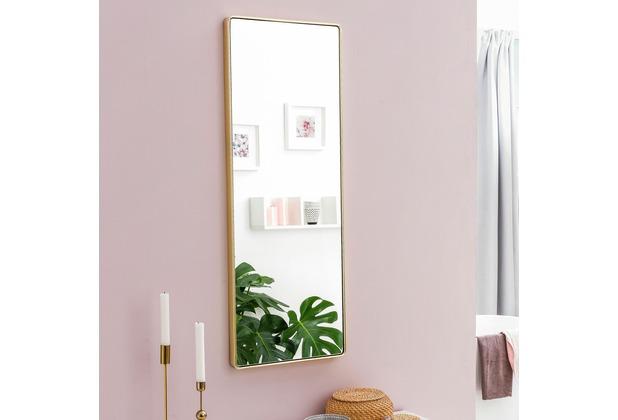 Wohnling Wandspiegel WL5.781 Gold 36 x 100 x 4 cm Spiegel Modern ...