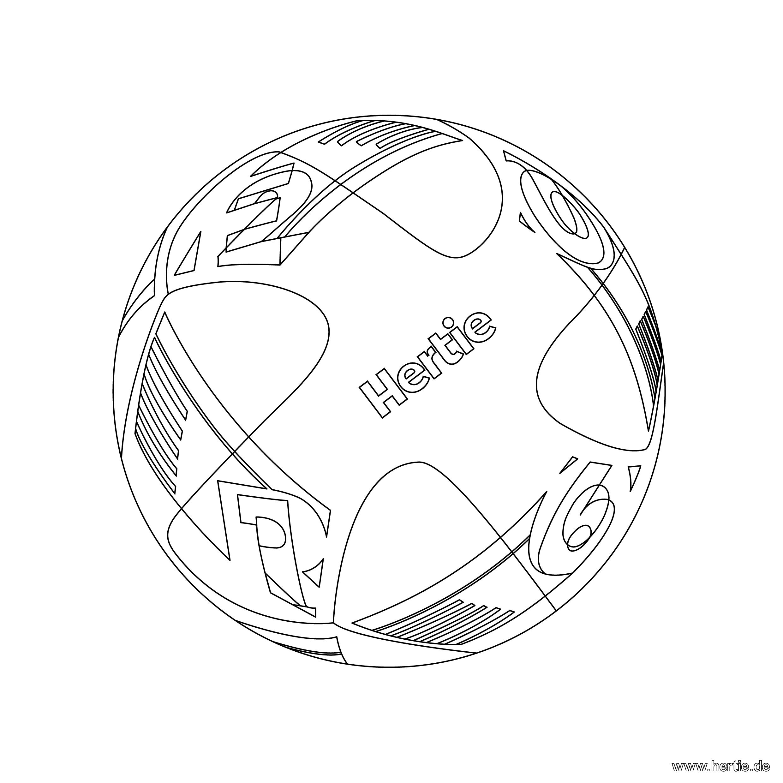 Fußball Ausmalbilder : Ausmalbild Fussball Em 2016 Hertie De